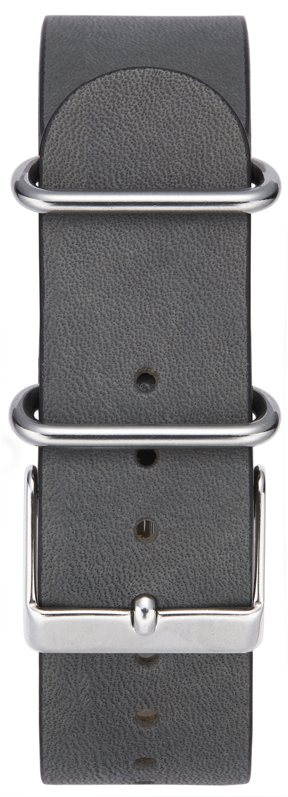 GREY W/ STAINLESS STEEL BUCKLE