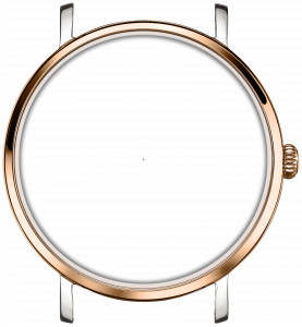 STAINLESS STEEL/ ROSE GOLD